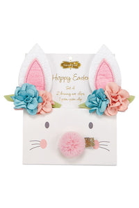 EASTER BUNNY 3 CLIP SET