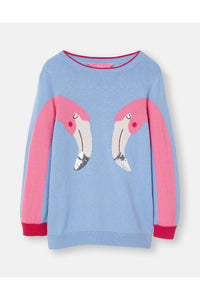 MIRROR FLAMINGO SWEATER