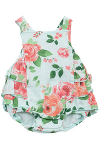 ROSE BLOOMS RUFFLE BUBBLE