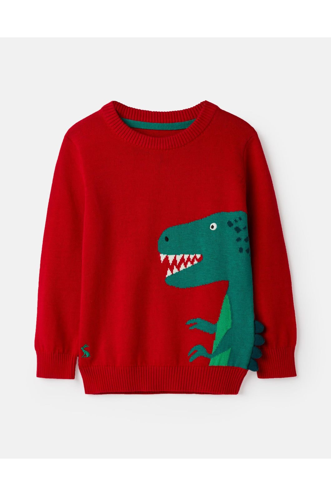 DINO SPIKE INTARSIA SWEATER