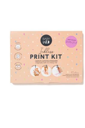 BABYINK INK-LESS PRINT KIT - PINK