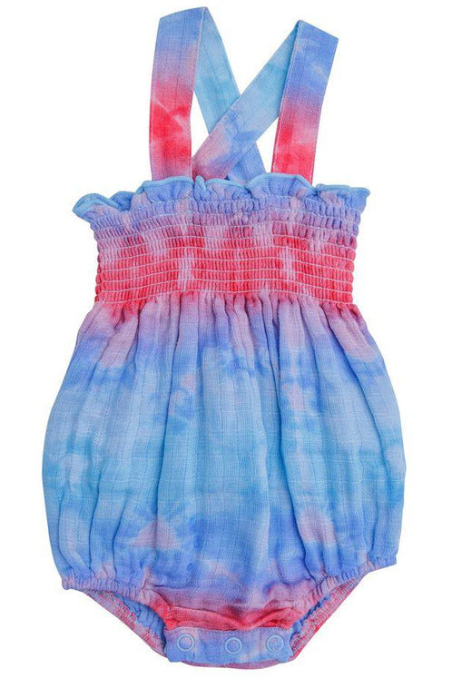 SL SMOCKED SHIBORI BUBBLE