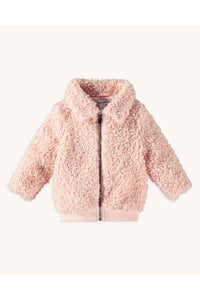 LS INF FAUX FUR BOMBER
