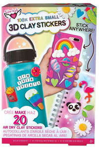 3D MINI CLAY STICKER KIT