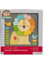Load image into Gallery viewer, CHUNKY WOOD LION PUZZLE