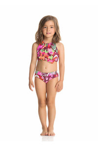 LINDA FIESTA HIGH NECK 2 PIECE