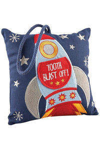 ROCKET TOOTH FAIRY CUSHION