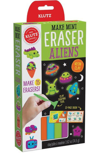 MINI ERASER ALIENS