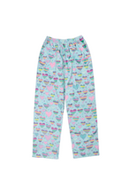 Load image into Gallery viewer, STRIPED HEARTS FLEECE PANT