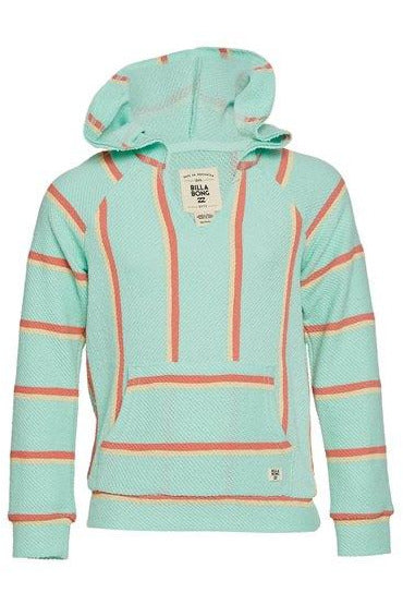SANDY STRIPES KNIT HOODIE