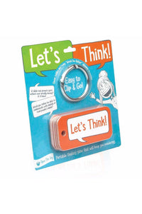 LET'S THINK CONVERSATION CARDS (4Y+)