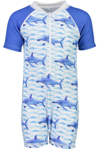 1PC SHARKS SUNSUIT