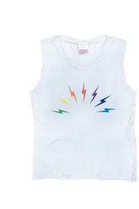 ARCHED RAINBOW BOLTS TANK