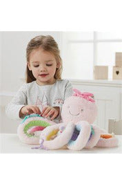 PINK OCTOPUS ACTIVITY TOY