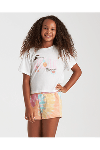 BRIGHT TIE DYE SHORT