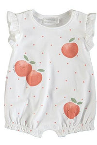 SL SCTR PEACHES ROMPER