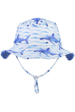 Load image into Gallery viewer, SHARKS REVERSIBLE BUCKET HAT