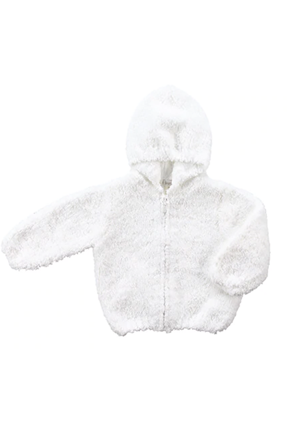 CHENILLE HOODED JACKET (ADDITIONAL COLORS)
