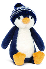 Load image into Gallery viewer, BASHFUL PENGUIN BOBBLE HAT ASSORTED