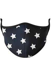 White Stars Face Mask (8Y+)
