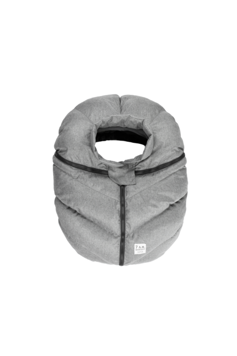 FLC CAR SEAT COCOON - H.GREY