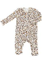 Load image into Gallery viewer, LS LEOPARD PRINT RUFF FOOTIE