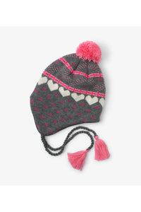 WINTER HEARTS TRAPPER HAT