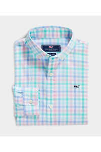 LS PALM BEACH PLAID BD