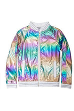 Load image into Gallery viewer, METALLIC RAINBOW JACKET