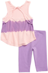 BABY TIE DYE TOP+LEGGING SET