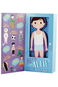 ALFIE MAGNETIC DOLL DRESS UP