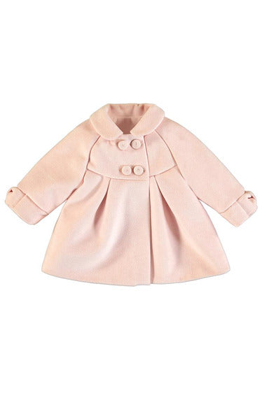 LS WOOL DRESS COAT