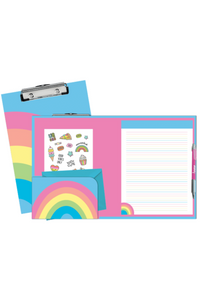 RAINBOW CLIPBOARD SET