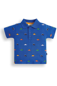 DINOSAUR EMBROIDERED POLO