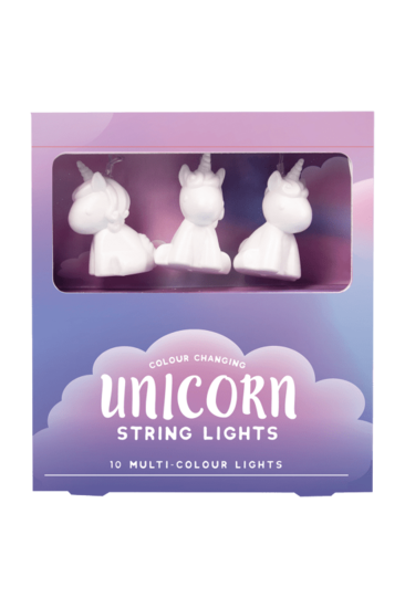 COLOR CHG UNICORN STRING LIGHTS