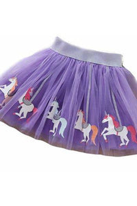 UNICORN CAROUSEL TUTU - 2_6Y - PURPLE