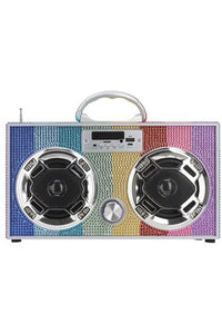 RBW BLING BLUETOOTH RADIO BOOMBOX