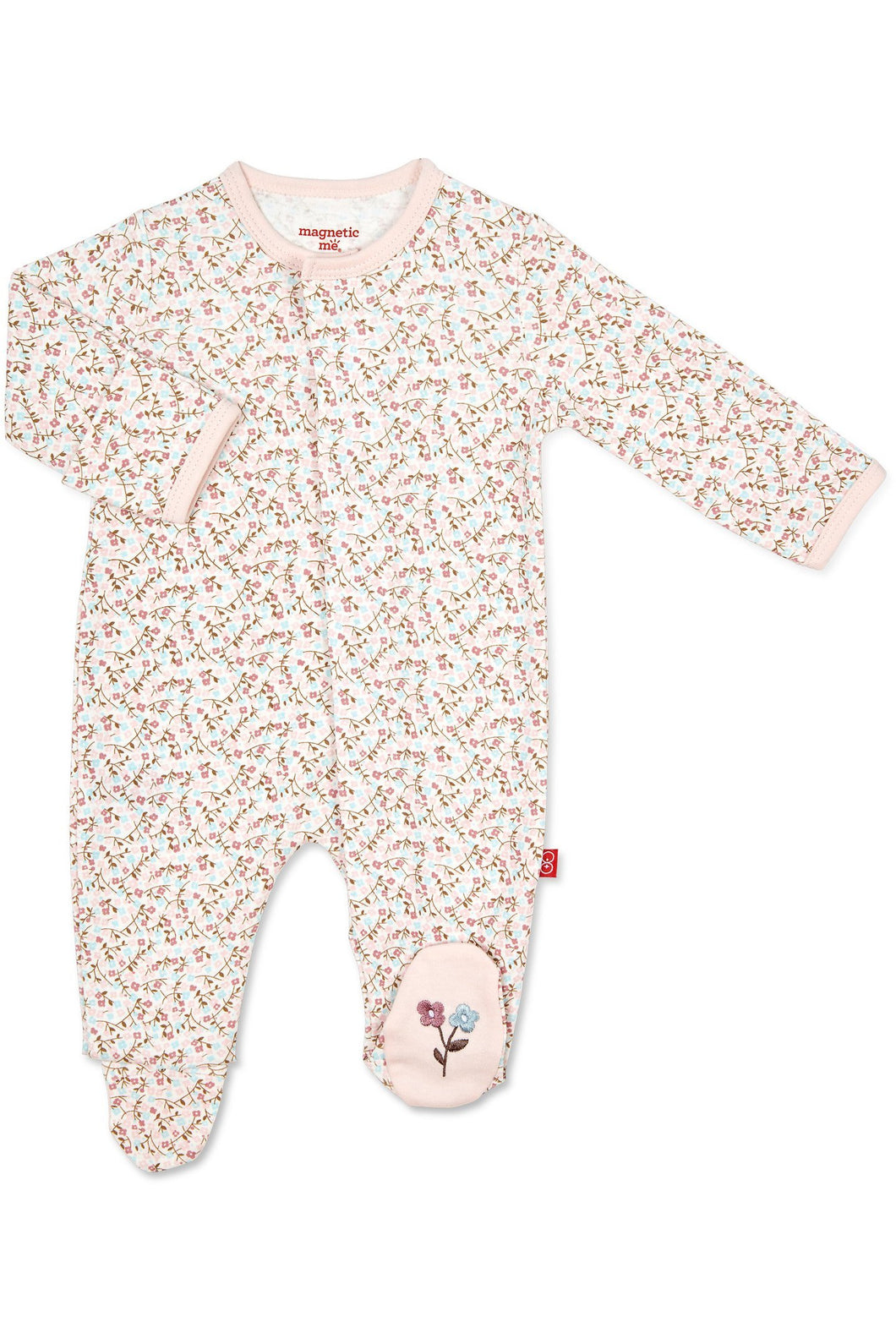 BEDFORD FLORAL MAGNETIC FOOTIE
