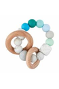 Load image into Gallery viewer, Silicone & Wood Beaded Teether