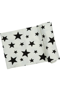 MONOCHROME STARS SWADDLE