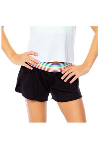 RAINBOW BAND SOFT SHORT