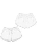 CROCHET BOTTOM PULL-ON SHORT (ADDITIONAL COLORS)