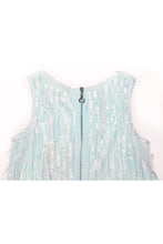 Load image into Gallery viewer, SEQUIN & BEAD FRINGE DRESS