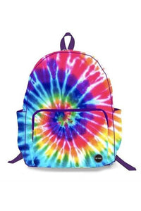 PRIMARY TIE DYE CANVAS BACKPACK