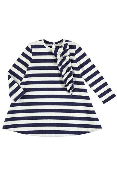 LS SUPERSOFT STRIPE DRESS
