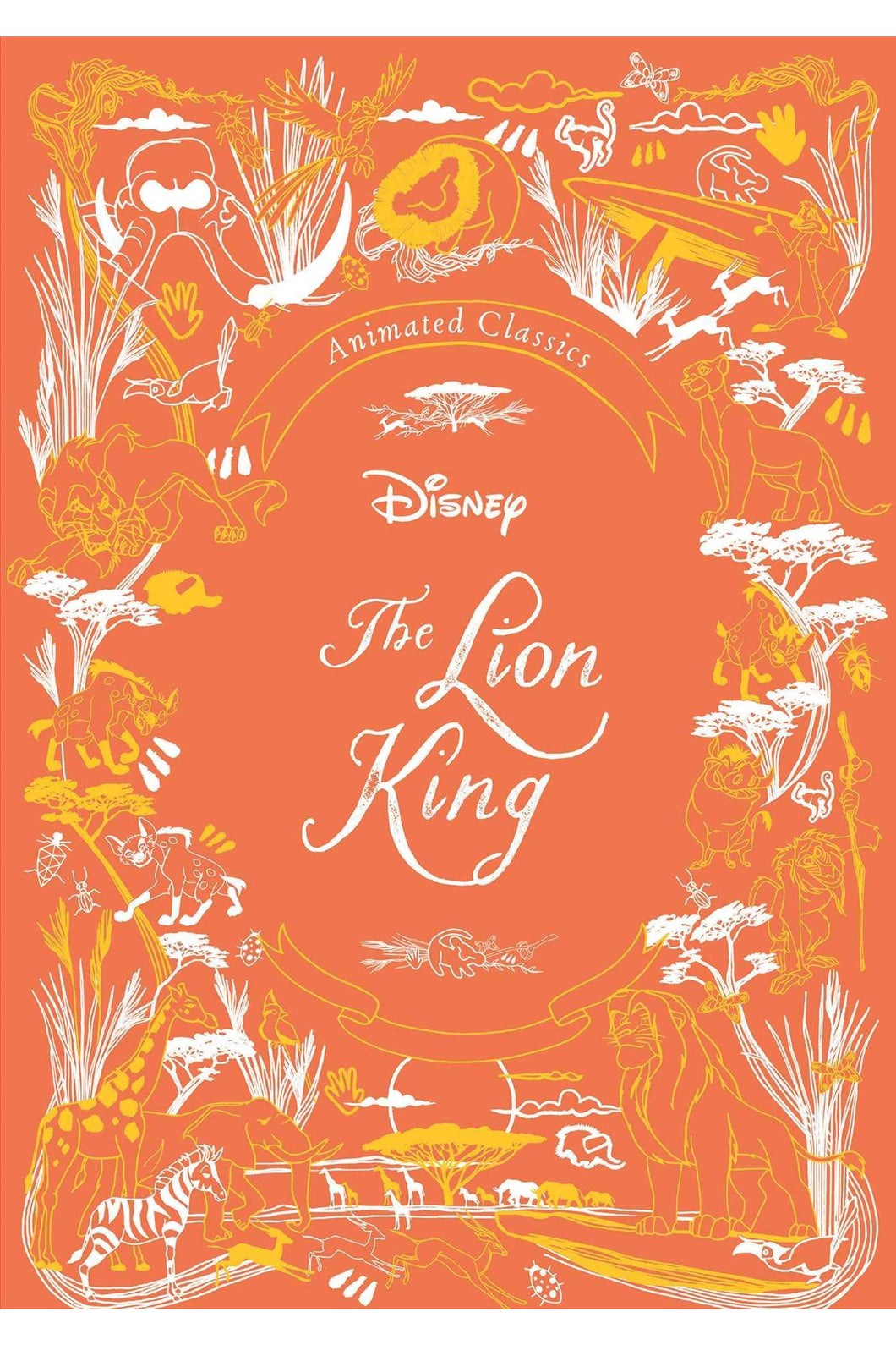 DISNEY ANIMATED LION KING
