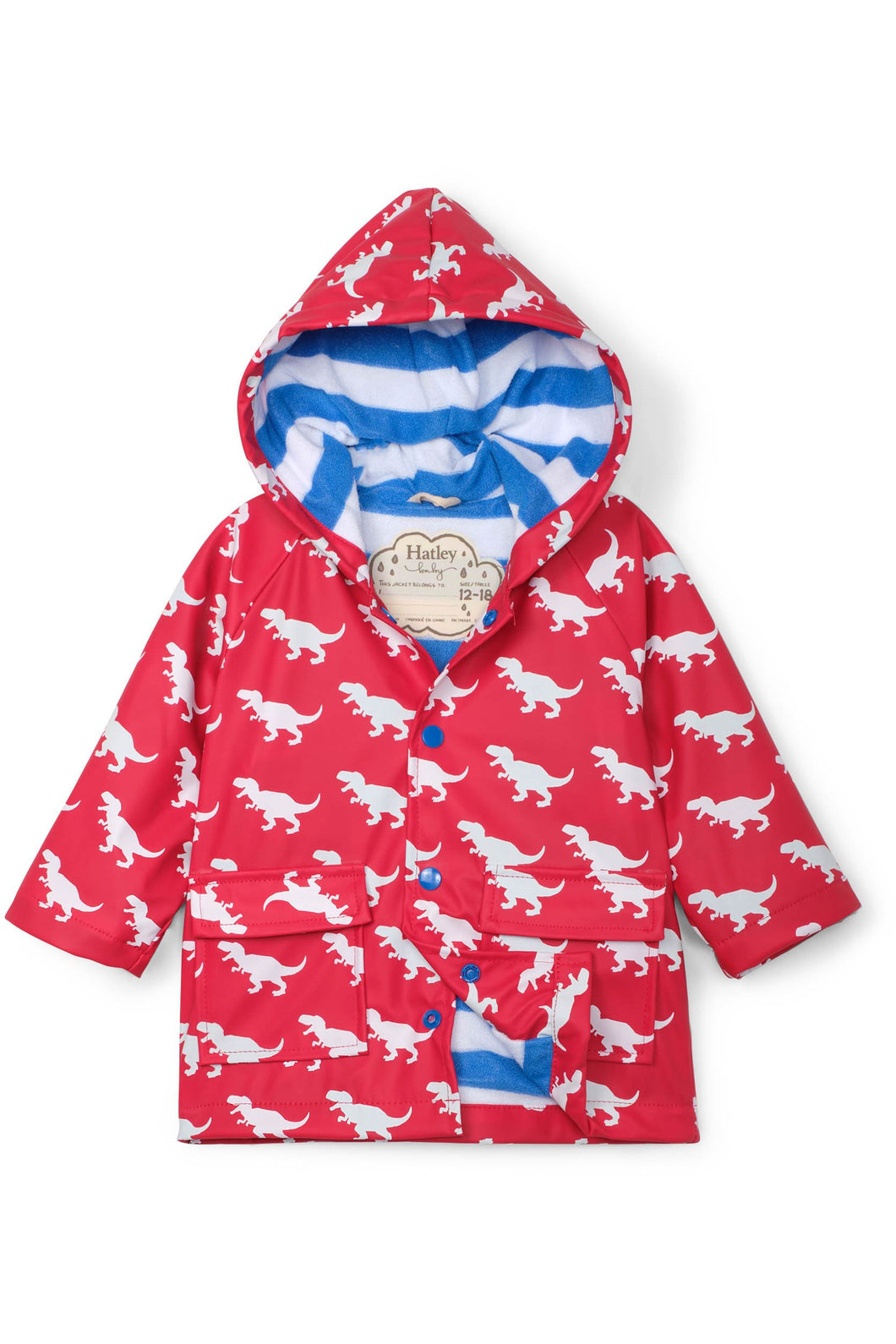 DINOSAUR COLOR CHANGE RAIN JACKET