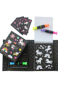NEON UNICORN COLORING KIT