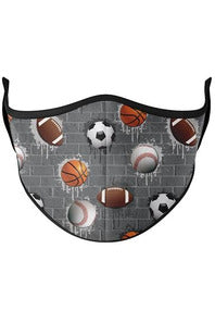 SPORTS CITY FACE MASK (8Y+)
