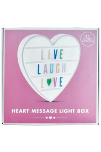 HEART SHAPE LIGHTBOX